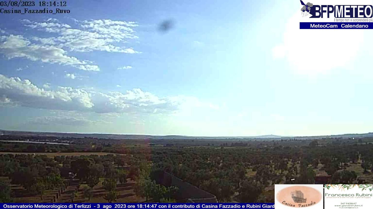 Ultima Immagine webcam da Monte Caccia